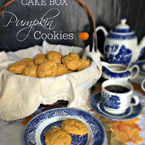 Cake Box Pumpkin Cookies