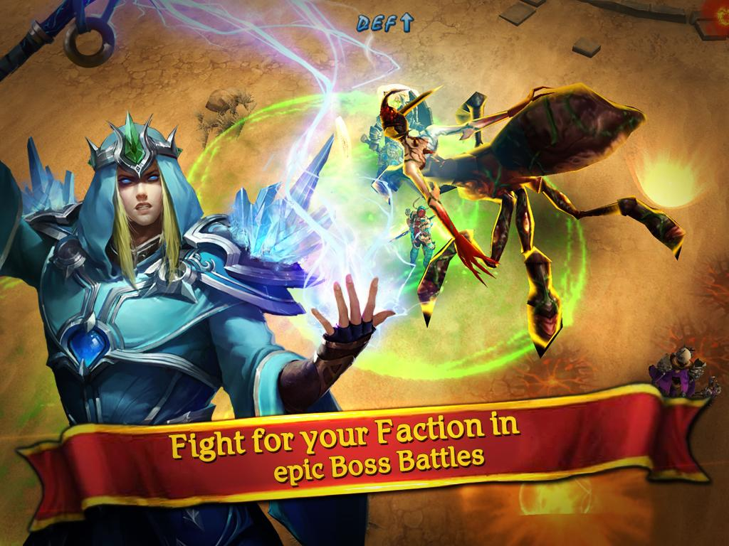 Clash for Dawn: Guild War Screenshot 3
