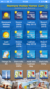 Newmans Holiday Homes - screenshot
