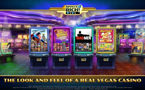 Spin It Rich! Free Slot Casino APK for Blackberry