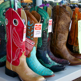 Boot Sale by Kathy Suttles - Artistic Objects Clothing & Accessories (  )