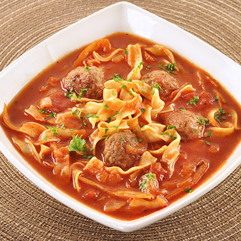 Hearty Cabbage and Meatball Soup