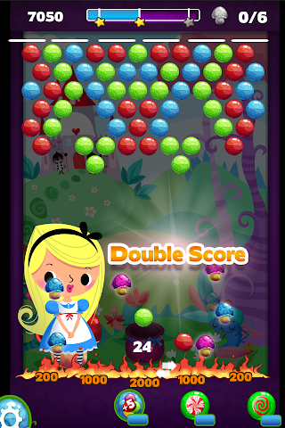 android Alice in Bubble Candy Pop FREE Screenshot 7