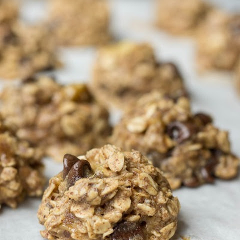 Chocolate Almond Butter Banana Cookies