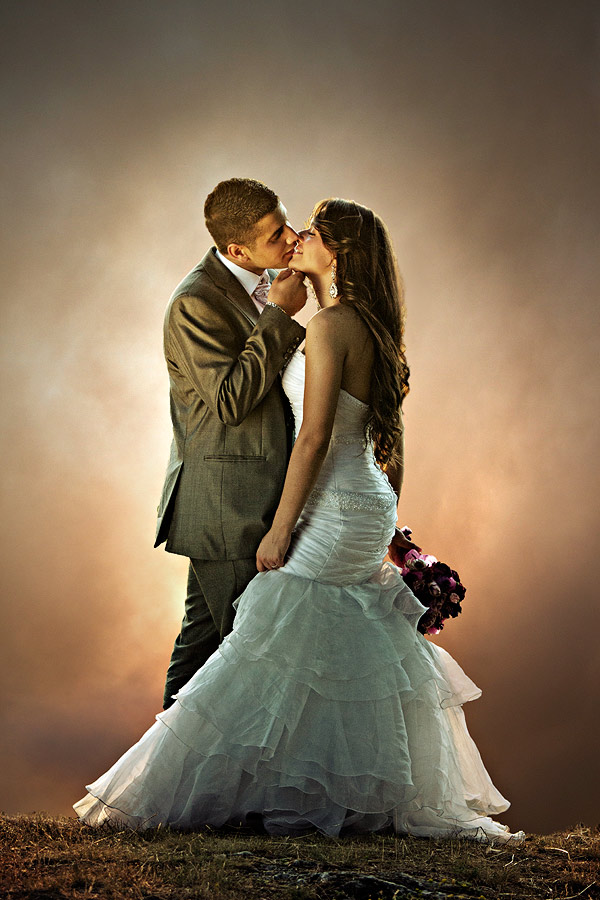kiss by Ante Gašpar - Wedding Bride & Groom