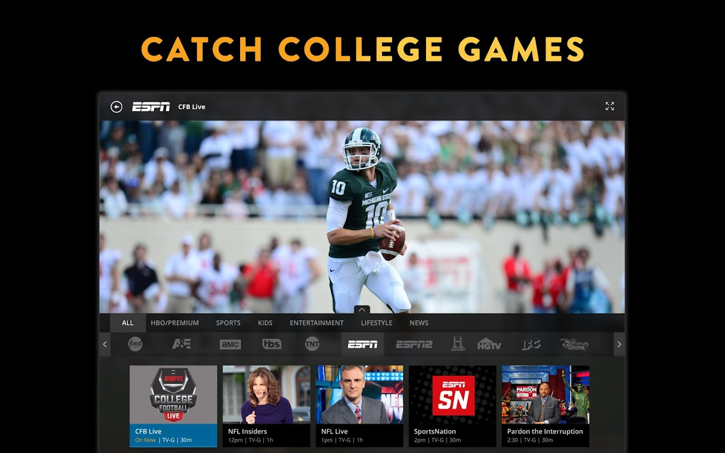 Sling TV Screenshot 5