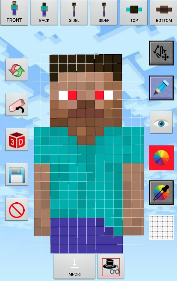 Skin Creator Minecraft Pro Screenshot 10