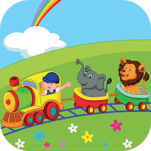 Download Funny Animals Train Adventure: Memory game for PC