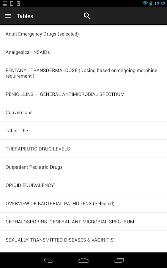 Tarascon Pharmacopoeia Screenshot 12