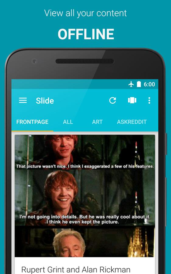 Slide for Reddit Screenshot 2