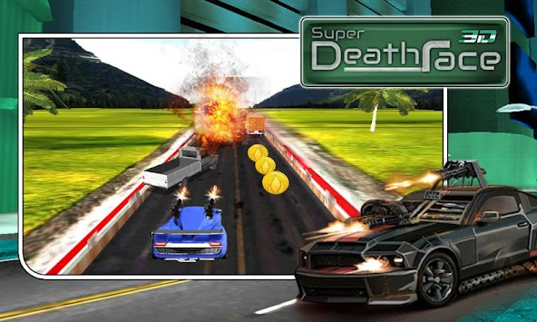 Play Death Race Game Here - A Racing Game on