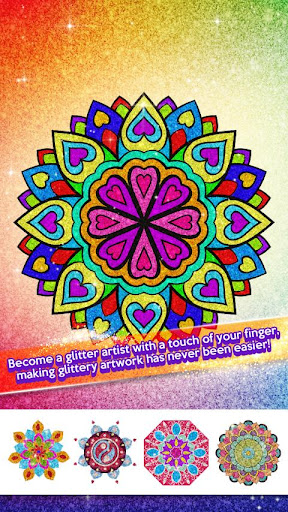 Glitter Color By Number - Glitter Number Coloring For PC