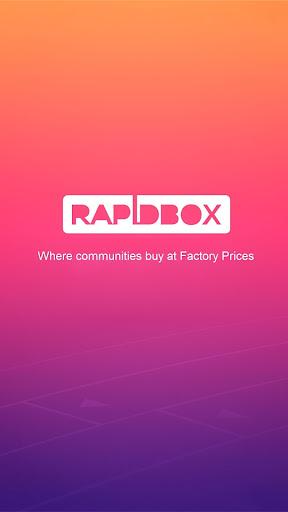 RapidBox Social Shopping App-Buy at Factory Prices screenshot 1