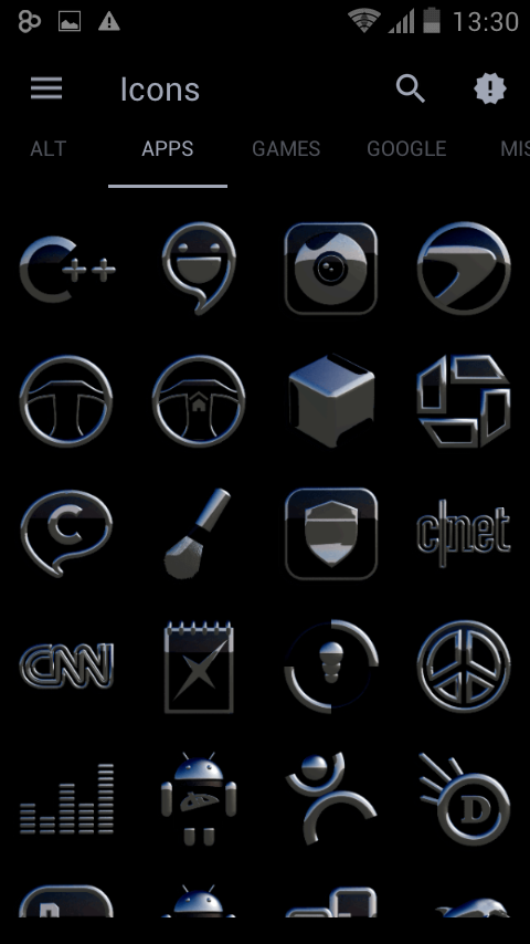 Icon Pack Sakato 3D Screenshot 7