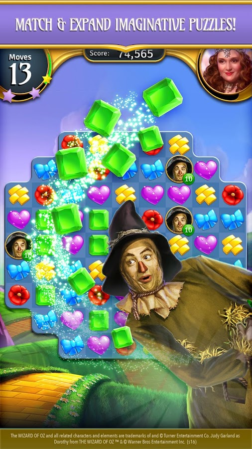 Wizard of Oz: Magic Match Screenshot 4