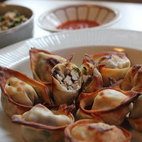 Baked Wontons