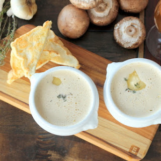 "Baked ""Potato"" Soup"