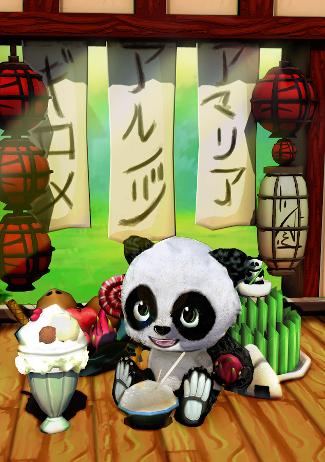 Daily Panda : virtual pet Screenshot 8