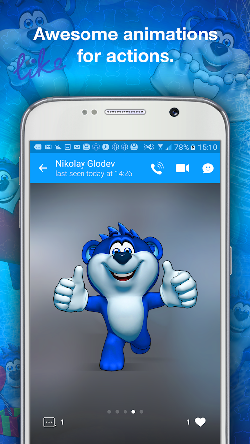 Snaappy Messenger Screenshot 3