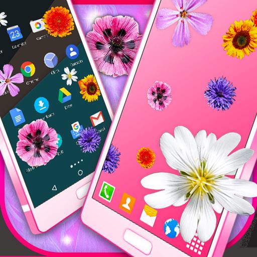 Pretty Flowers on Screen (app)