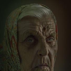 Old lady by Codreț A. Cătălin - People Portraits of Women ( old, old lady, lady )