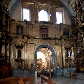 cathedral by Cristobal Garciaferro Rubio - Buildings & Architecture Places of Worship ( catherdral, interior, church, mexico, puebla )
