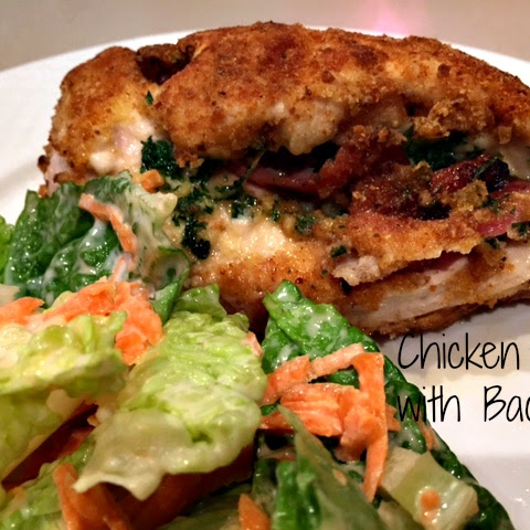 Chicken Kiev with Bacon