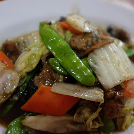 Stir Fried Mix Vegetables by Beh Heng Long - Food & Drink Plated Food ( chinese food )