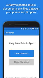 Autosync Dropbox - Dropsync Screenshot