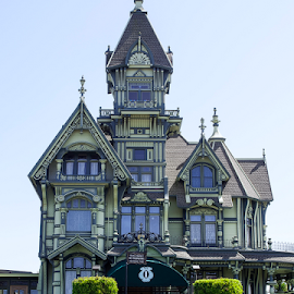 Eureka Mansion by Joe Saladino - Buildings & Architecture Homes ( eureka, ornate, mansion, california )