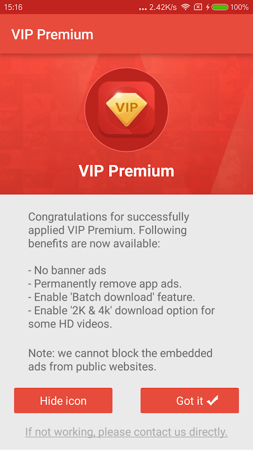 VIP Premium Screenshot 0