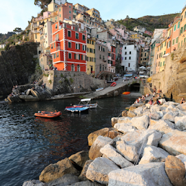 by Felice Bellini - City,  Street & Park  Neighborhoods ( riomaggiore )