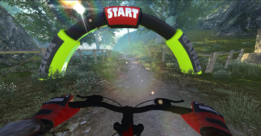 MTB DownHill: Multiplayer screenshot 18