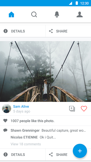 500px – Discover great photos screenshots