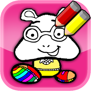Kids coloring book for Arthur for Android