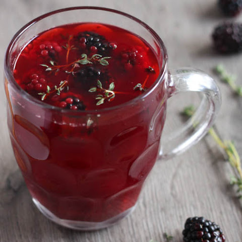 Apple And Blackberry Mulled Cider