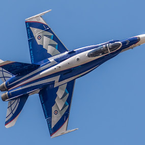CF-18 Hornet by Alistair Forrest - Transportation Airplanes ( demo team, canadian, jet, fighter, hornet, riat )
