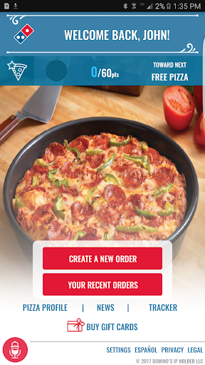 Domino's Pizza USA screenshot 1