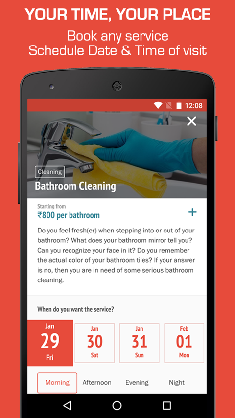 Mr. Right - Home Services App Screenshot 3