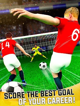 Manchester Devils Soccer - Football Goal Shooting APK screenshot thumbnail 4