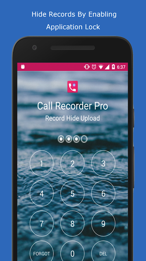 Call Recorder Pro - Record, Hide, Upload Screenshot 1
