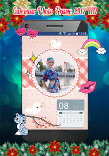 Calendar Photo Frame 2017 HD- screenshot thumbnail