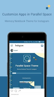 MemoryNotebook Theme-Ins - screenshot