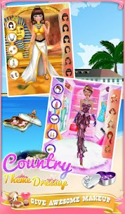 Country Theme Dressup- screenshot thumbnail