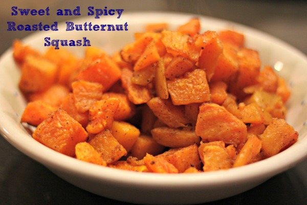 Sweet and Spicy Roasted Butternut Squash Recipe | Yummly