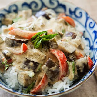 Eggplant Green Curry