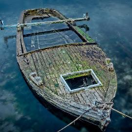 by Bojan Bilas - Transportation Boats ( trogir, croatia, boat, spring, hrvatska )