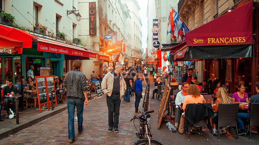 PAris. by Sorin Bogdan - City,  Street & Park  Street Scenes