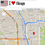 Chicago map APK Image