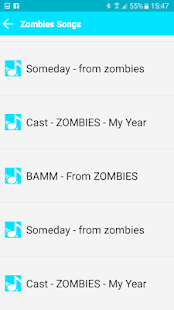 All Songs Zombies 2018